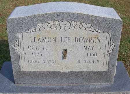 BOWREN, LAEMON LEE - White County, Arkansas | LAEMON LEE BOWREN - Arkansas Gravestone Photos