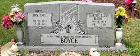 BOYCE, JACK CARL - White County, Arkansas | JACK CARL BOYCE - Arkansas Gravestone Photos
