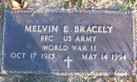 BRACELY (VETERAN WWII), MELVIN E - White County, Arkansas | MELVIN E BRACELY (VETERAN WWII) - Arkansas Gravestone Photos
