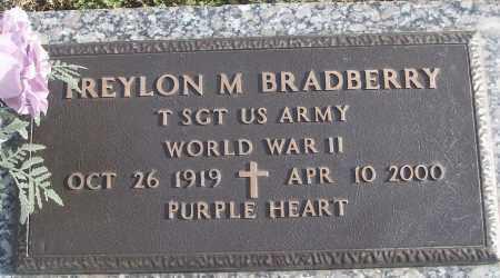 BRADBERRY (VETERAN WWII), FREYLON M - White County, Arkansas | FREYLON M BRADBERRY (VETERAN WWII) - Arkansas Gravestone Photos