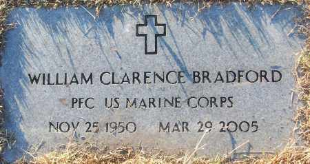 BRADFORD (VETERAN), WILLIAM CLARENCE - White County, Arkansas | WILLIAM CLARENCE BRADFORD (VETERAN) - Arkansas Gravestone Photos