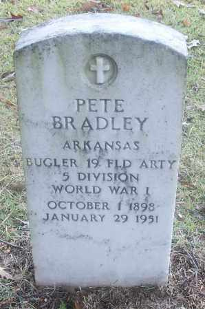 BRADLEY  (VETERAN WWI), PETE - White County, Arkansas | PETE BRADLEY  (VETERAN WWI) - Arkansas Gravestone Photos