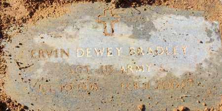 BRADLEY (VETERAN), ERVIN DEWEY - White County, Arkansas | ERVIN DEWEY BRADLEY (VETERAN) - Arkansas Gravestone Photos