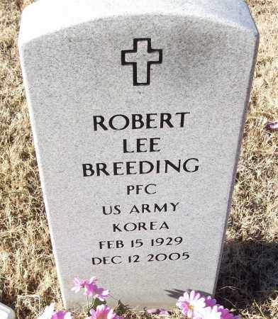 BREEDING (VETERAN KOR), ROBERT LEE - White County, Arkansas | ROBERT LEE BREEDING (VETERAN KOR) - Arkansas Gravestone Photos