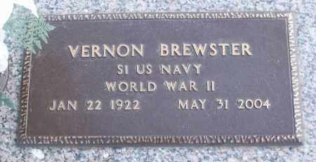 BREWSTER (VETERAN WWII), VERNON - White County, Arkansas | VERNON BREWSTER (VETERAN WWII) - Arkansas Gravestone Photos