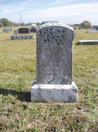 HUBBARD BRIDGES, MAGGIE - White County, Arkansas | MAGGIE HUBBARD BRIDGES - Arkansas Gravestone Photos