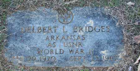 BRIDGES (VETERAN WWII), DELBERT L - White County, Arkansas | DELBERT L BRIDGES (VETERAN WWII) - Arkansas Gravestone Photos