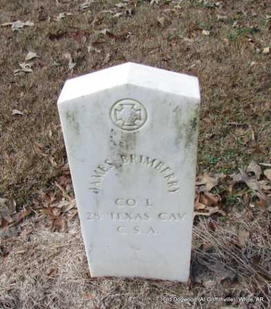 BRIMBERRY (VETERAN CSA), JAMES - White County, Arkansas | JAMES BRIMBERRY (VETERAN CSA) - Arkansas Gravestone Photos