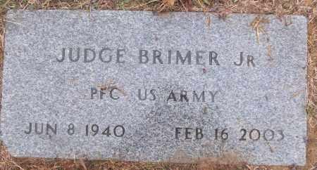 BRIMER,  JR (VETERAN), JUDGE - White County, Arkansas | JUDGE BRIMER,  JR (VETERAN) - Arkansas Gravestone Photos