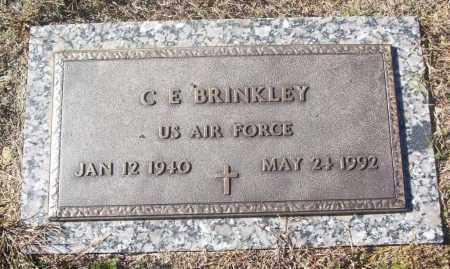 BRINKLEY (VETERAN), C. E. - White County, Arkansas   C. E. BRINKLEY (VETERAN) - Arkansas Gravestone Photos