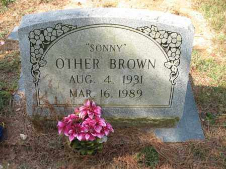 "BROWN, OTHER ""SONNY"" - White County, Arkansas 