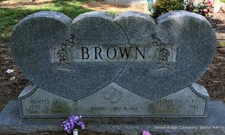 BROWN, SR., MORRIS - White County, Arkansas | MORRIS BROWN, SR. - Arkansas Gravestone Photos