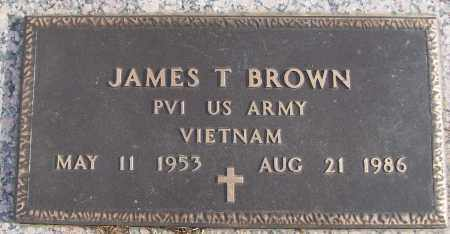BROWN (VETERAN VIET), JAMES T - White County, Arkansas | JAMES T BROWN (VETERAN VIET) - Arkansas Gravestone Photos