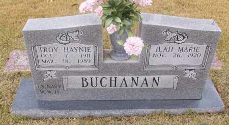 BUCHANAN  (VETERAN WWII), TROY HAYNIE - White County, Arkansas | TROY HAYNIE BUCHANAN  (VETERAN WWII) - Arkansas Gravestone Photos