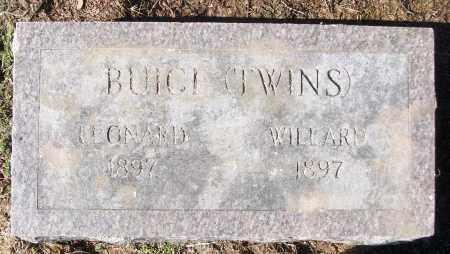 BUICE, LEONARD - White County, Arkansas | LEONARD BUICE - Arkansas Gravestone Photos