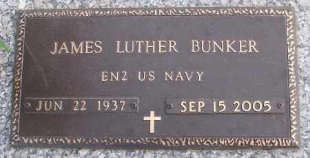 BUNKER (VETERAN), JAMES LUTHER - White County, Arkansas | JAMES LUTHER BUNKER (VETERAN) - Arkansas Gravestone Photos