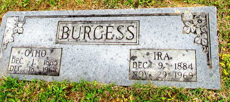 EDWARDS BURGESS, IRA BELLE - White County, Arkansas | IRA BELLE EDWARDS BURGESS - Arkansas Gravestone Photos