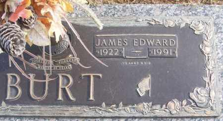 BURT (VETERAN WWII), JAMES EDWARD - White County, Arkansas | JAMES EDWARD BURT (VETERAN WWII) - Arkansas Gravestone Photos