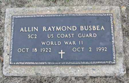 BUSBEA (VETERAN WWII), ALLIN RAYMOND - White County, Arkansas | ALLIN RAYMOND BUSBEA (VETERAN WWII) - Arkansas Gravestone Photos