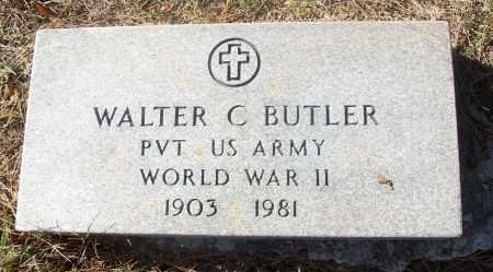 BUTLER  (VETERAN WWII), WALTER C - White County, Arkansas   WALTER C BUTLER  (VETERAN WWII) - Arkansas Gravestone Photos