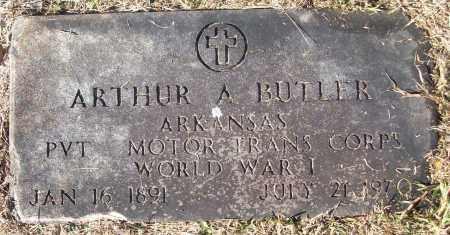 BUTLER (VETERAN WWI), ARTHUR A - White County, Arkansas | ARTHUR A BUTLER (VETERAN WWI) - Arkansas Gravestone Photos