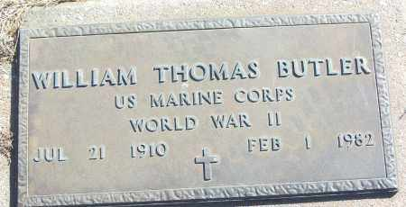 BUTLER (VETERAN WWII), WILLIAM THOMAS - White County, Arkansas | WILLIAM THOMAS BUTLER (VETERAN WWII) - Arkansas Gravestone Photos