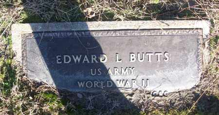 BUTTS (VETERAN WWII), EDWARD L - White County, Arkansas | EDWARD L BUTTS (VETERAN WWII) - Arkansas Gravestone Photos