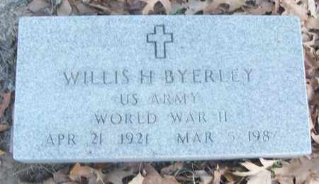 BYERLEY (VETERAN WWII), WILLIS H - White County, Arkansas | WILLIS H BYERLEY (VETERAN WWII) - Arkansas Gravestone Photos