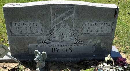 BYERS, DORIS JUNE - White County, Arkansas | DORIS JUNE BYERS - Arkansas Gravestone Photos