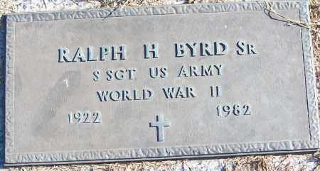 BYRD, SR (VETERAN WWII), RALPH H - White County, Arkansas | RALPH H BYRD, SR (VETERAN WWII) - Arkansas Gravestone Photos