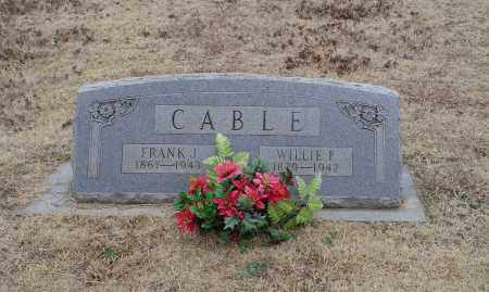 CABLE, WILLIE FRANCES - White County, Arkansas | WILLIE FRANCES CABLE - Arkansas Gravestone Photos