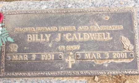 CALDWELL (VETERAN), BILLY J - White County, Arkansas | BILLY J CALDWELL (VETERAN) - Arkansas Gravestone Photos
