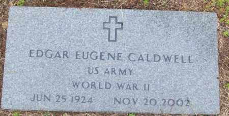 CALDWELL (VETERAN WWII), EDGAR EUGENE - White County, Arkansas | EDGAR EUGENE CALDWELL (VETERAN WWII) - Arkansas Gravestone Photos