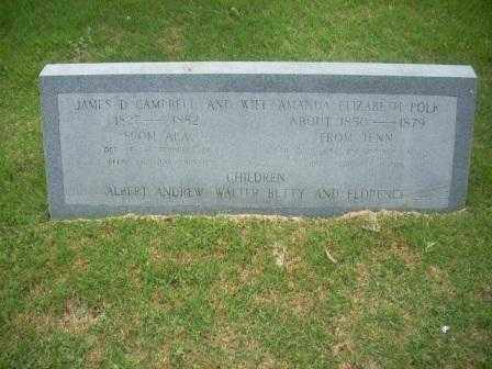 POLK CAMPBELL, AMANDA - White County, Arkansas | AMANDA POLK CAMPBELL - Arkansas Gravestone Photos