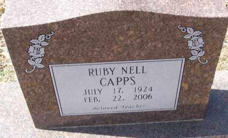 CAPPS, RUBY NELL - White County, Arkansas | RUBY NELL CAPPS - Arkansas Gravestone Photos