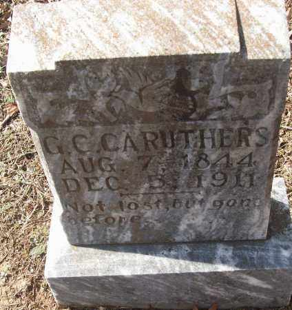 CARUTHERS, G.C. - White County, Arkansas | G.C. CARUTHERS - Arkansas Gravestone Photos