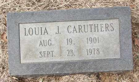 CARUTHERS, LOUIA J. - White County, Arkansas | LOUIA J. CARUTHERS - Arkansas Gravestone Photos