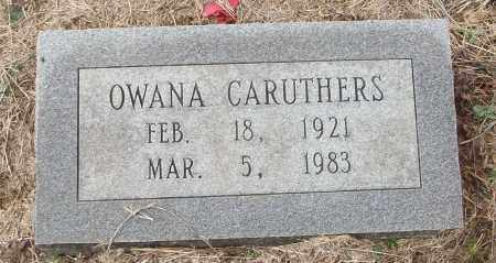 CARUTHERS, OWANA - White County, Arkansas | OWANA CARUTHERS - Arkansas Gravestone Photos
