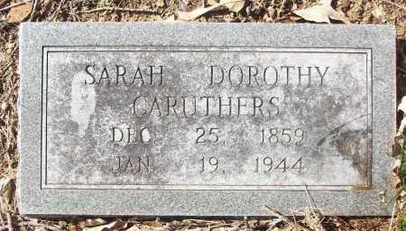 CARUTHERS, SARAH DOROTHY - White County, Arkansas | SARAH DOROTHY CARUTHERS - Arkansas Gravestone Photos