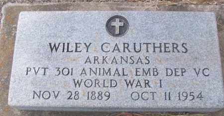 CARUTHERS (VETERAN WWI), WILEY - White County, Arkansas | WILEY CARUTHERS (VETERAN WWI) - Arkansas Gravestone Photos