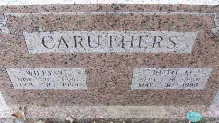 CARUTHERS, WILEY G. - White County, Arkansas | WILEY G. CARUTHERS - Arkansas Gravestone Photos