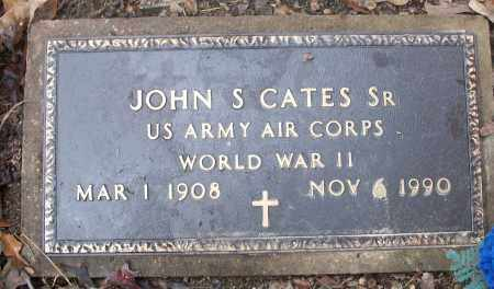 CATES, SR  (VETERAN WWII), JOHN S. - White County, Arkansas | JOHN S. CATES, SR  (VETERAN WWII) - Arkansas Gravestone Photos