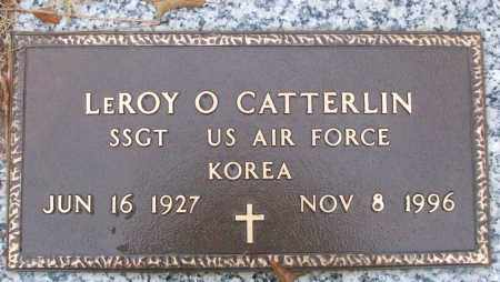 CATTERLIN (VETERAN KOR), LEROY O - White County, Arkansas | LEROY O CATTERLIN (VETERAN KOR) - Arkansas Gravestone Photos