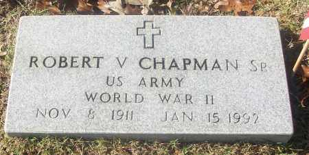 CHAPMAN,  SR  (VETERAN WWII), ROBERT V - White County, Arkansas | ROBERT V CHAPMAN,  SR  (VETERAN WWII) - Arkansas Gravestone Photos