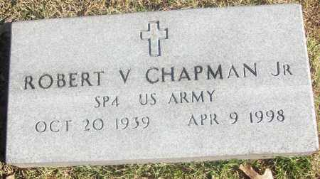 CHAPMAN, JR (VETERAN), ROBERT V - White County, Arkansas | ROBERT V CHAPMAN, JR (VETERAN) - Arkansas Gravestone Photos