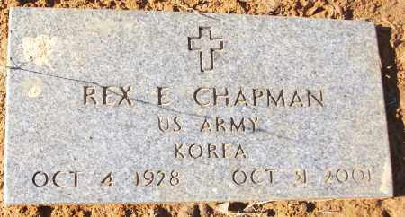 CHAPMAN (VETERAN KOR), REX E - White County, Arkansas | REX E CHAPMAN (VETERAN KOR) - Arkansas Gravestone Photos
