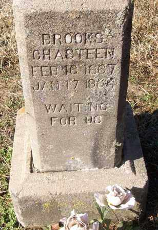 CHASTEEN, BROOKS - White County, Arkansas | BROOKS CHASTEEN - Arkansas Gravestone Photos