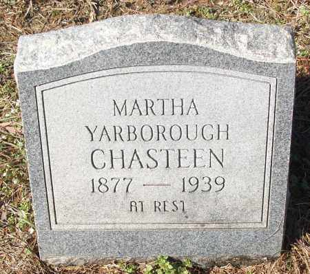 CHASTEEN, MARTHA - White County, Arkansas | MARTHA CHASTEEN - Arkansas Gravestone Photos