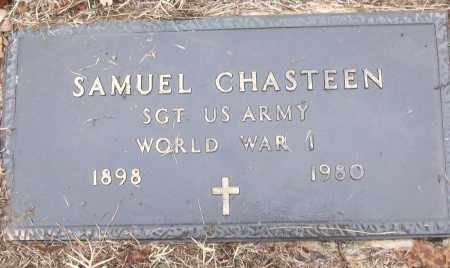 CHASTEEN (VETERAN WWI), SAMUEL - White County, Arkansas | SAMUEL CHASTEEN (VETERAN WWI) - Arkansas Gravestone Photos