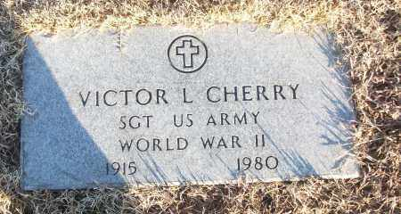 CHERRY (VETERAN WWII), VICTOR L - White County, Arkansas | VICTOR L CHERRY (VETERAN WWII) - Arkansas Gravestone Photos